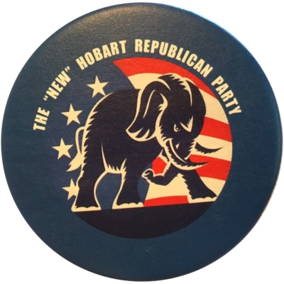 New Hobart Republican Party Button